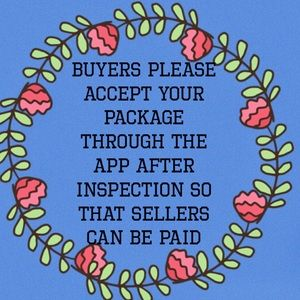 Kindly Accept Your Package After Inspection😁